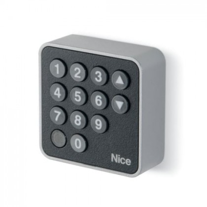 Nice EDSB burglar resistant digital keypad to be connected with Bluebus system
