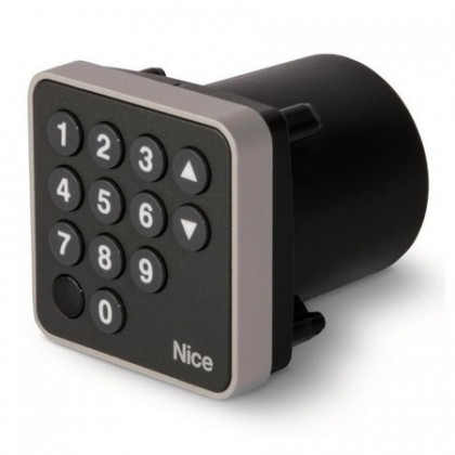 Nice EDS digital keypad to be combined with MORX decoder