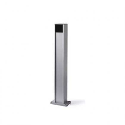 Nice PPH aluminium post with protected housing for medium and large photocells
