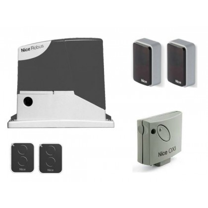 SPECIAL OFFER - Nice RobusKit 400 24Vdc kit for a sliding gate up to 400Kg Includes Delivery